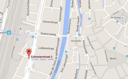 Nieuwe huisvesting Bimu Shiatsu google maps