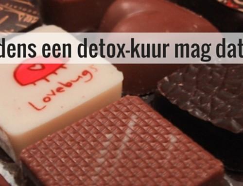 Zondigen tijdens een detox-kuur mag dat?