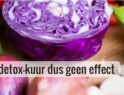 Zo heeft een detox-kuur dus geen effect