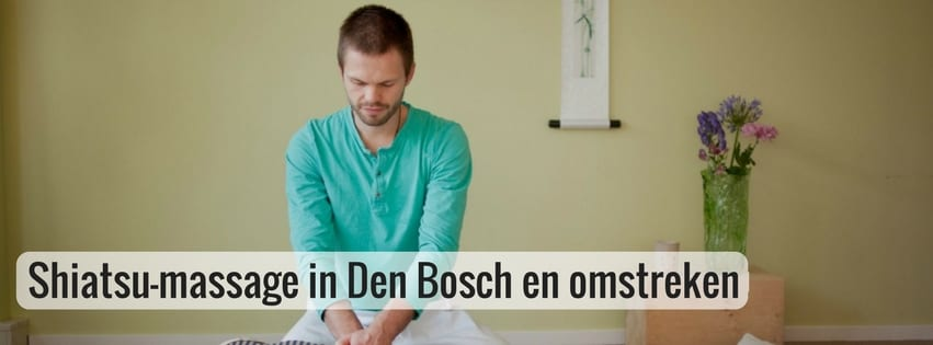 shiatsu massage in Den Bosch